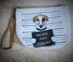 Bad Dog Clutch Purse