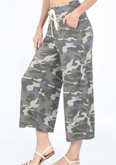 Green Camo Lounge Pants