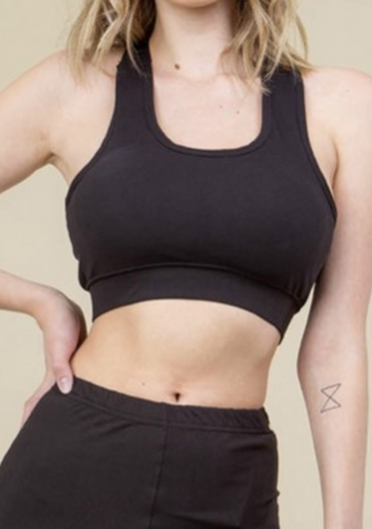 Basic Black Sports Bra