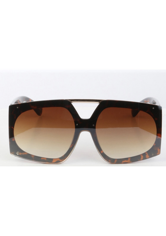 Brown Leopard Justina Shades