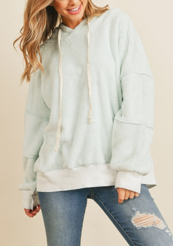 Oversized Mint Soft Sweatshirt