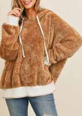 Oversized Tan Soft Sweatshirt