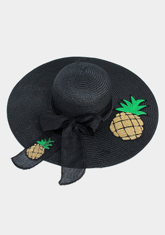 Pineapple Floppy Beach hat