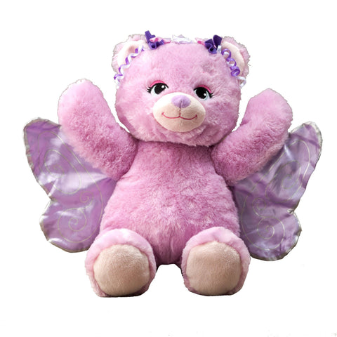 Flipemz Pink Bear to Butterfly Fairy Bear Plush Toy