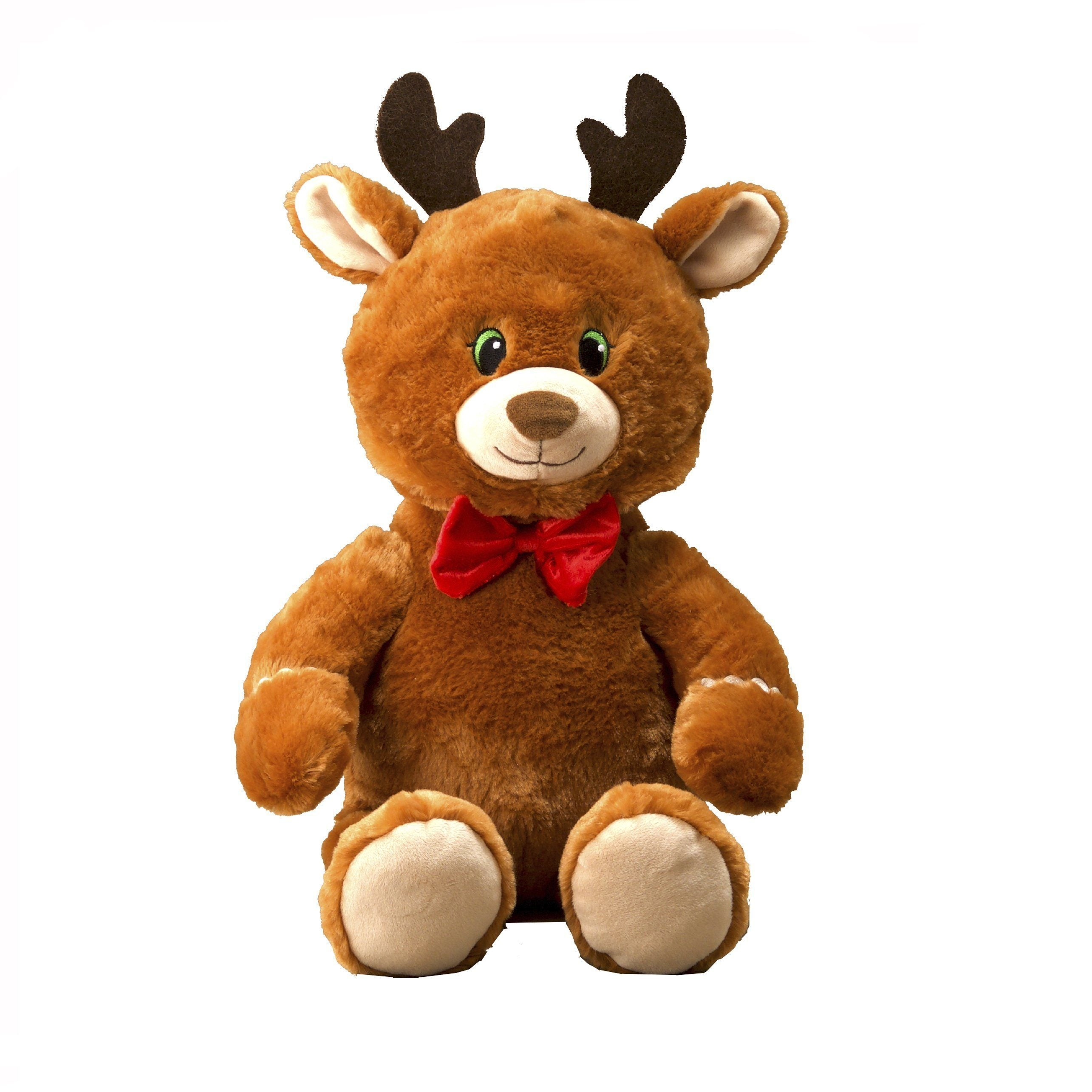 Flipemz Reindeer to Gingerbread Man Plush Toy
