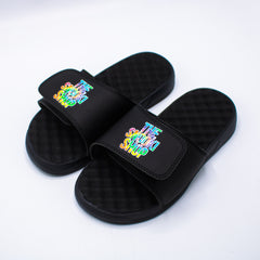 The Snooki Shop Sandals -Tie Die on Black