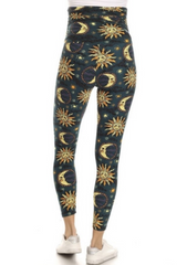 Sun and Moon Maternity Leggings