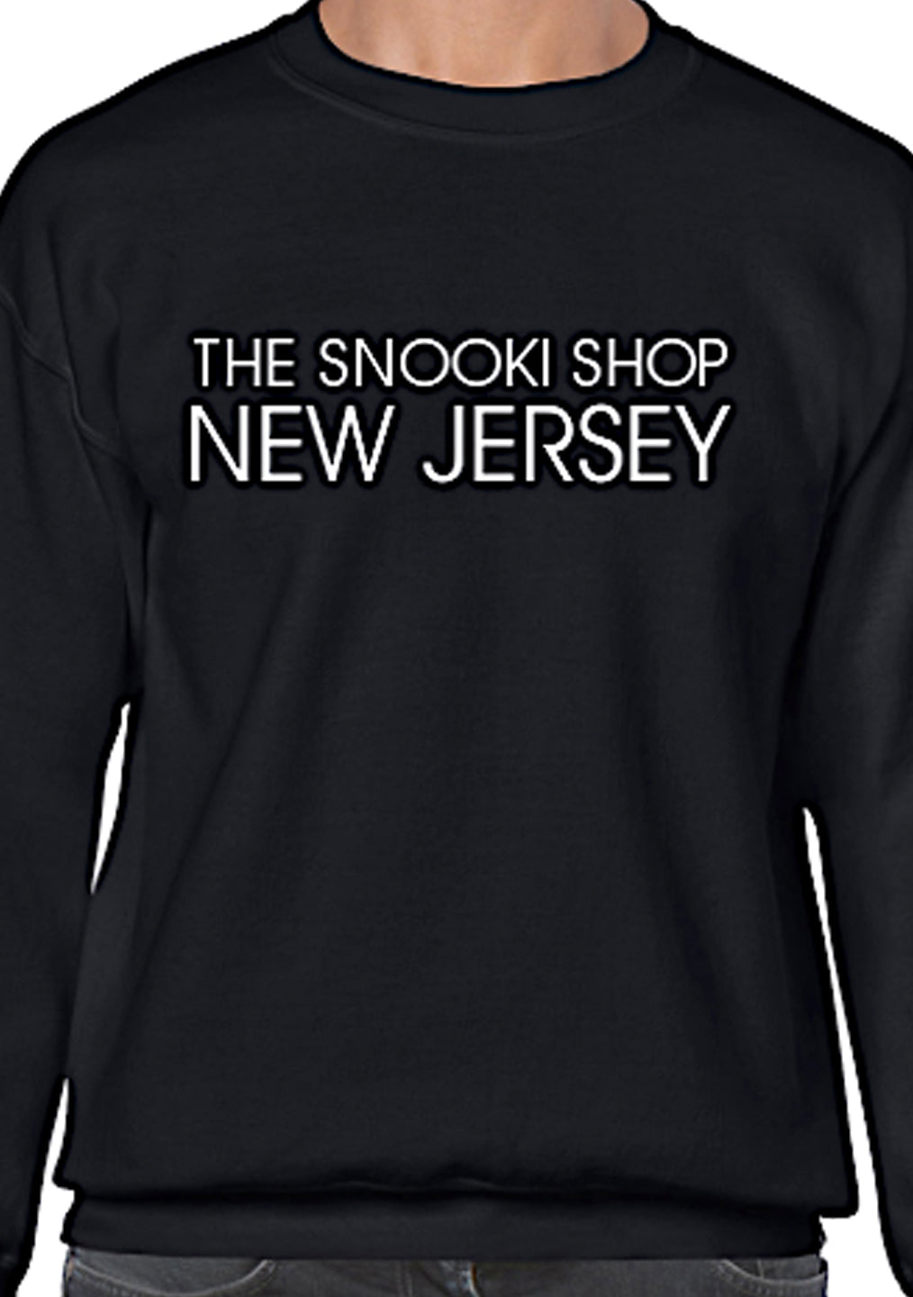 Black The Snooki Shop Sweatshirt