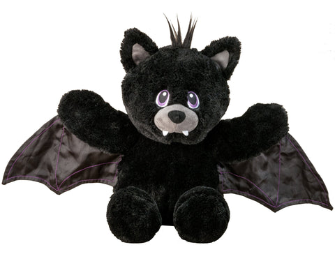 Flipemz Black Bear to Vampire Plush Toy