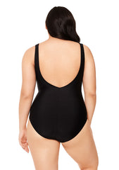 Wild Night Lace Up One Piece Bathing Suit
