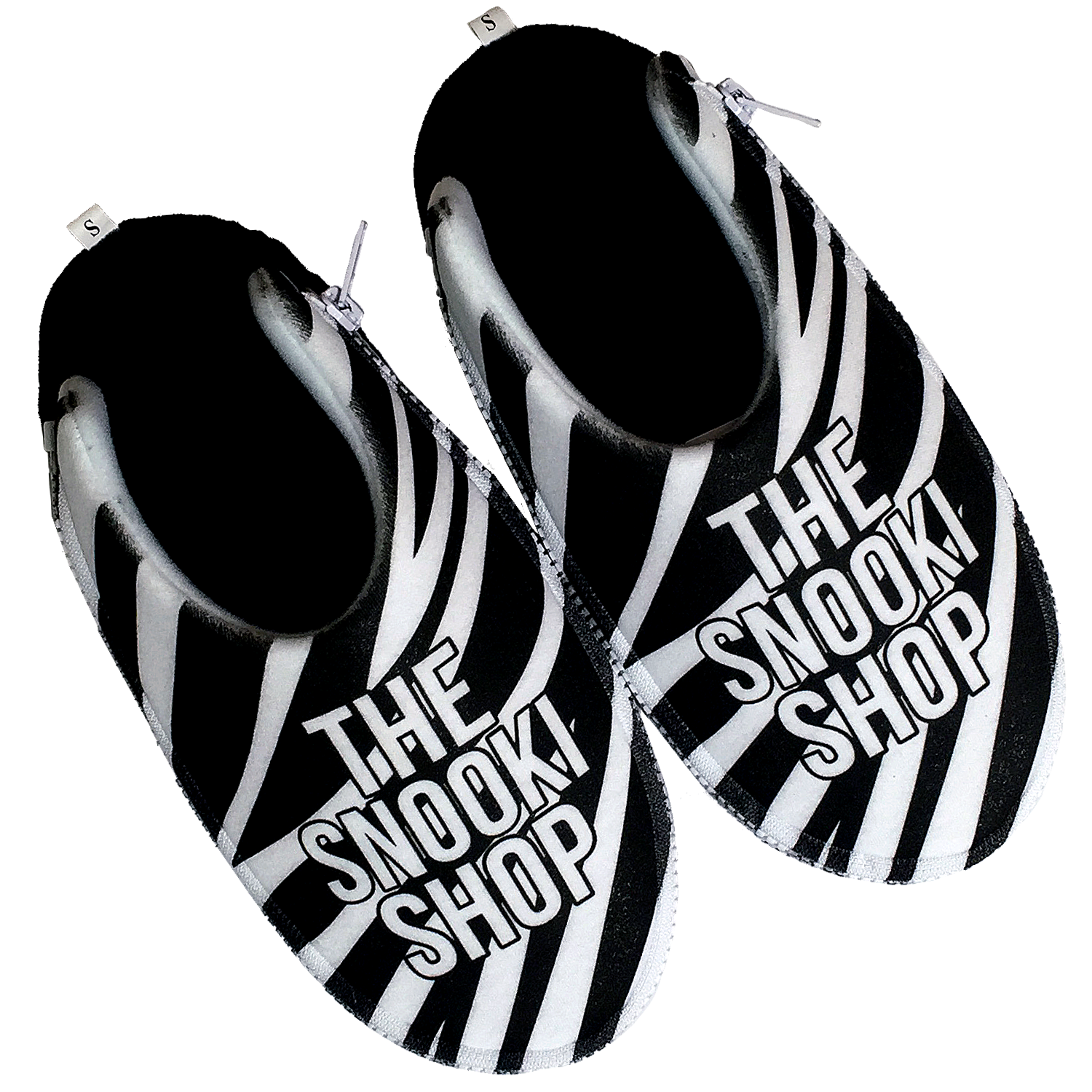 The Snooki Shop Zlipperz - Black Zebra