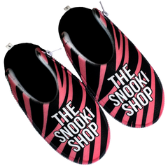 The Snooki Shop Zlipperz - Hot Pink Zebra