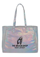 Snooki Shop Holographic Tote Bag