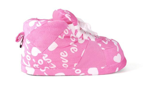 Pink Love Slippers