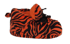 Orange Zebra Print Slipper