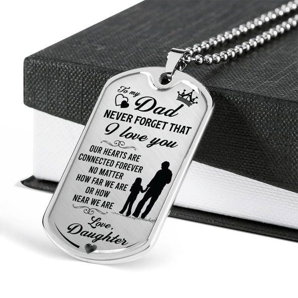 Father's Day Dog Tag from Daughter