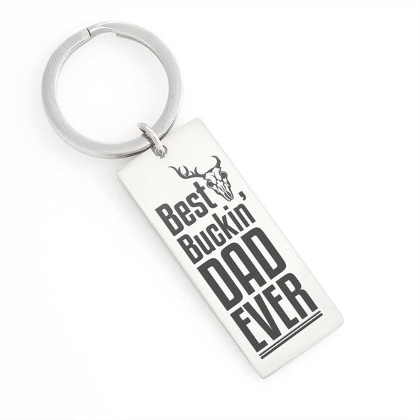 Collection Dad - Best Buckin' Dad Ever - Keychain
