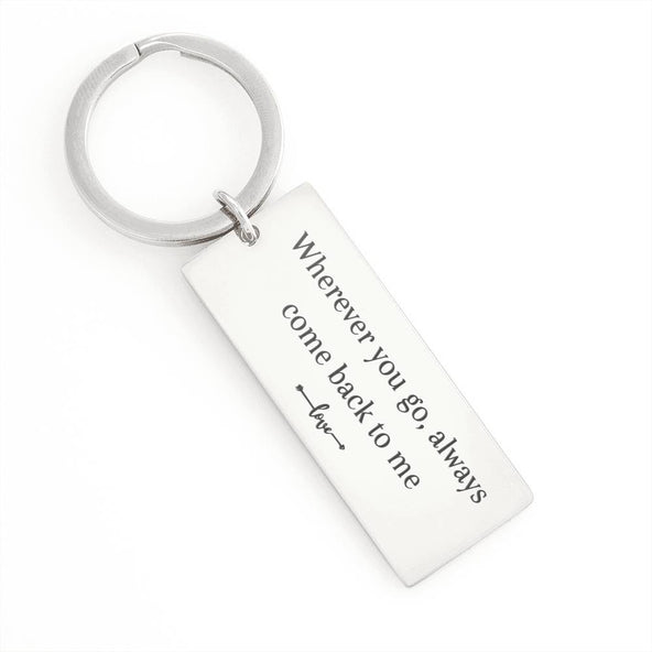 Collection Keychain - Wherever You Go