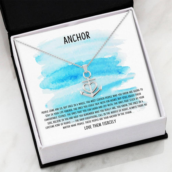 My Anchor - Friendship Necklace