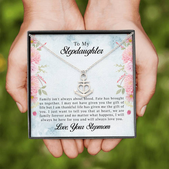 To My Stepdaughter - I Will Always Love You - Necklace