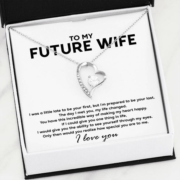 TO MY FUTURE WIFE - FOREVER LOVE NECKLACE