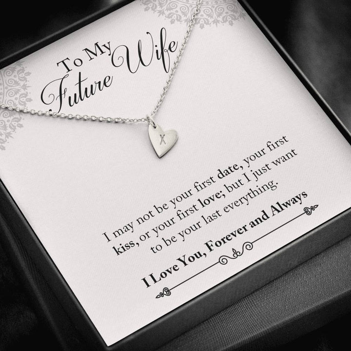 To My Future Wife Necklace Birthday Gift for Fiancee Future Wife Gift for Bride from Groom Fiance Gifts Engagement Gift for Future Wife