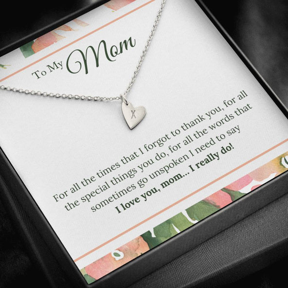 Collection Mom - Thank you - Necklace