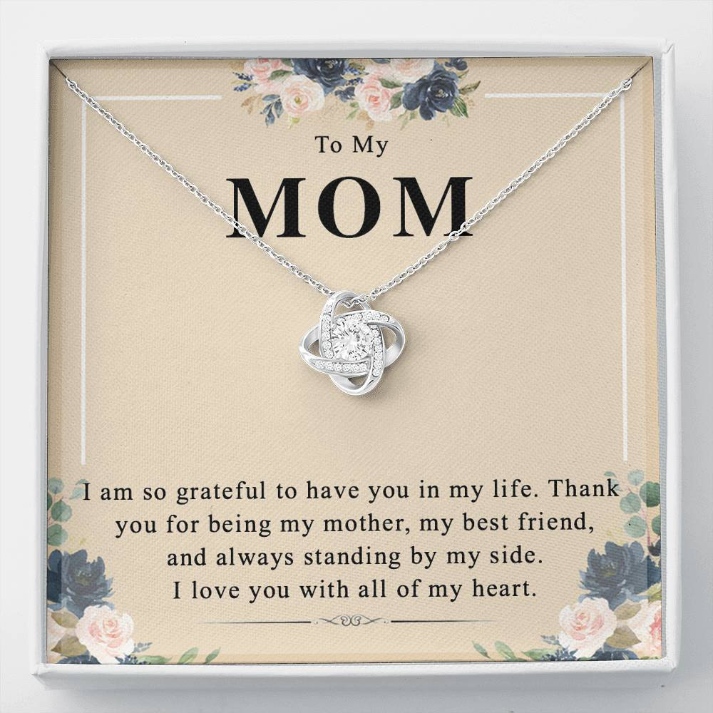 To My Mom Necklace,  Gift for Mom from Son or Daughter, Mom Jewelry, Mom Appreciation, Unique Gift for Mom