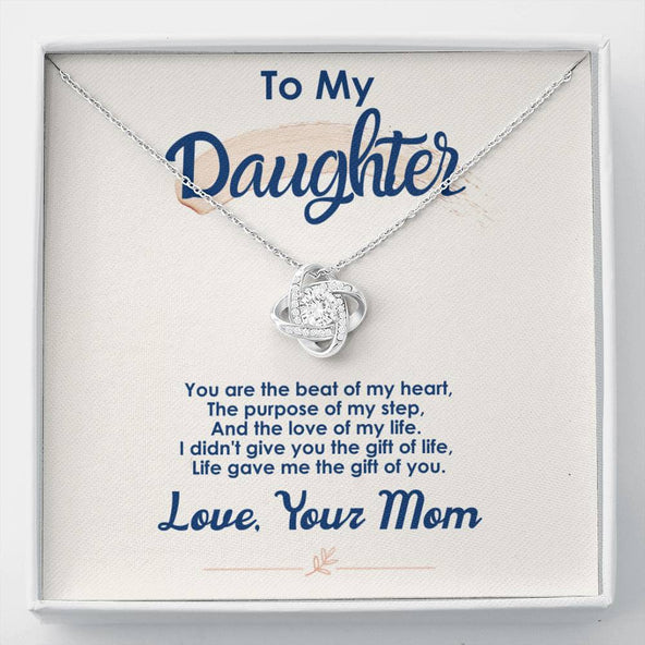 Collection Daughter - The Gift Of You -  Love Knot Necklace