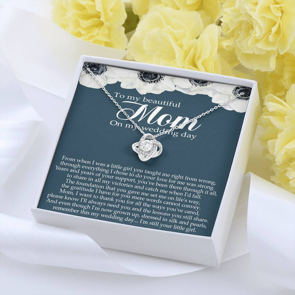 Mother of the Bride Gift from Daughter, Mother of the Bride Necklace from Bride, Gift To Mom from Bride