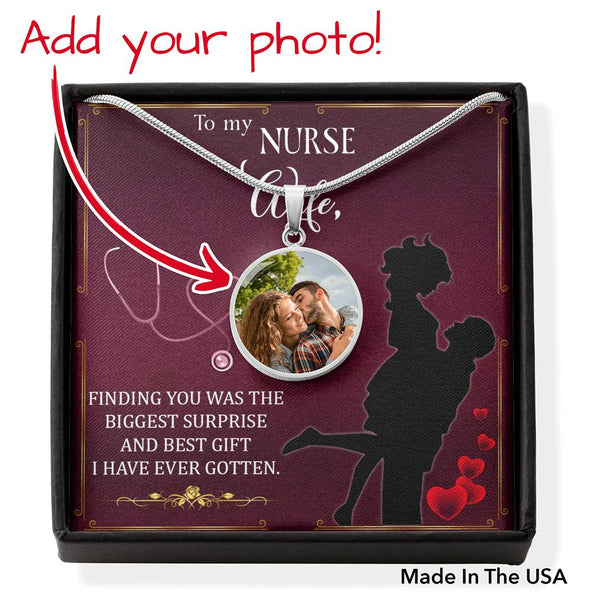 Collection Nurse Wife - Photo Necklace