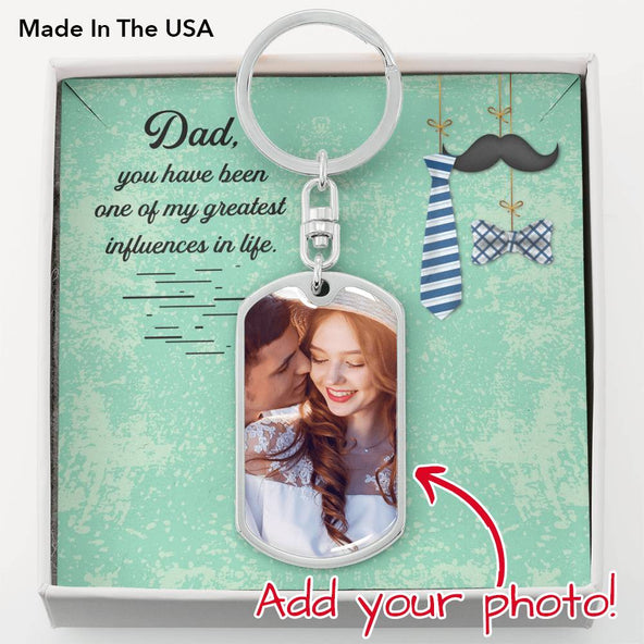 Collection Dad - My Great Influence - Keychain