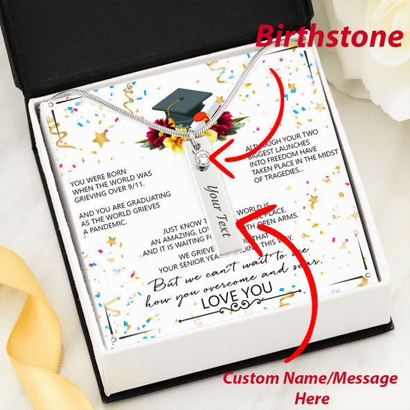 Hurry Selling out!) Graduation Custom Text~Graduation gift~senior gift~