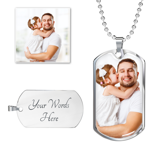 Fully Customizable Dog Tag with Engraving
