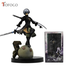 Load image into Gallery viewer, 15cm Nier Automata Yorha No.2 Type B PVC Model