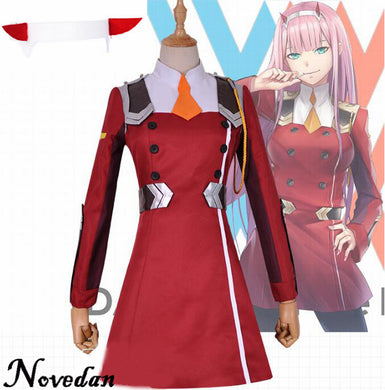 Women's Darling in the Franxx 002 Cosplay Costume