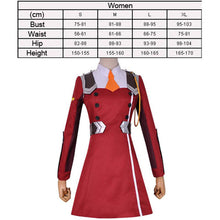 Load image into Gallery viewer, Women's Darling in the Franxx 002 Cosplay Costume