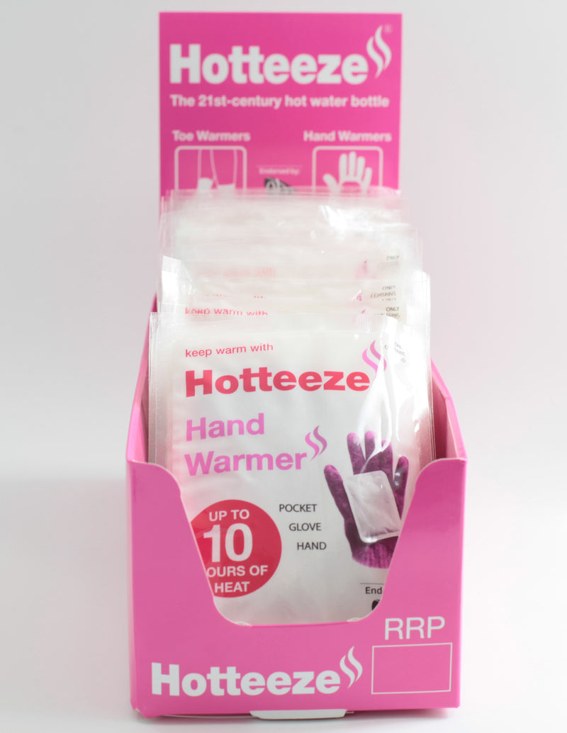 Hotteeze for Feet (240 pairs) + FREE Display Box