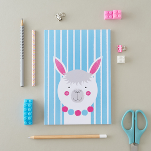 Stripy Alpaca A5 Notebook