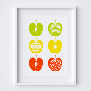 Apple Crunch, Limited Edition Screen Print
