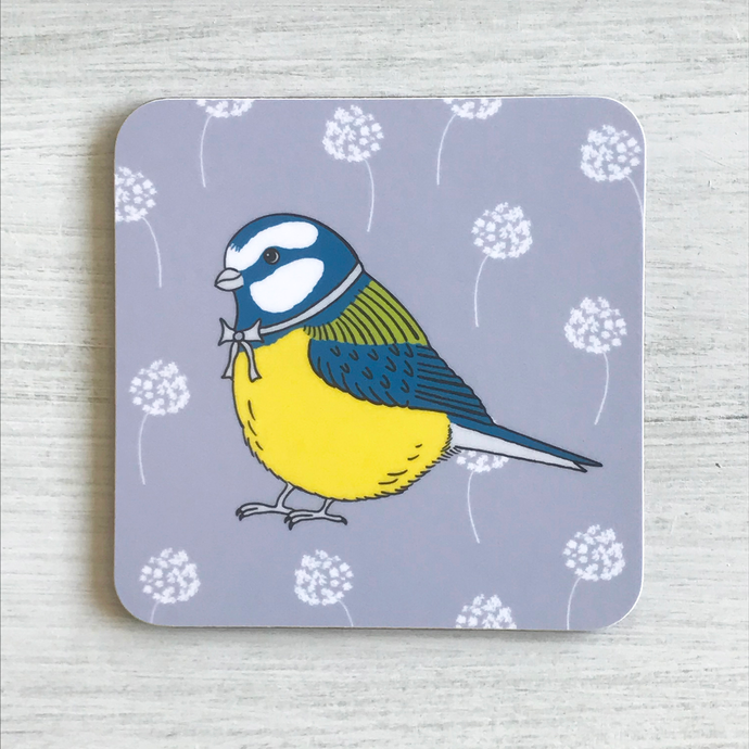 Little Blue Tit Coaster