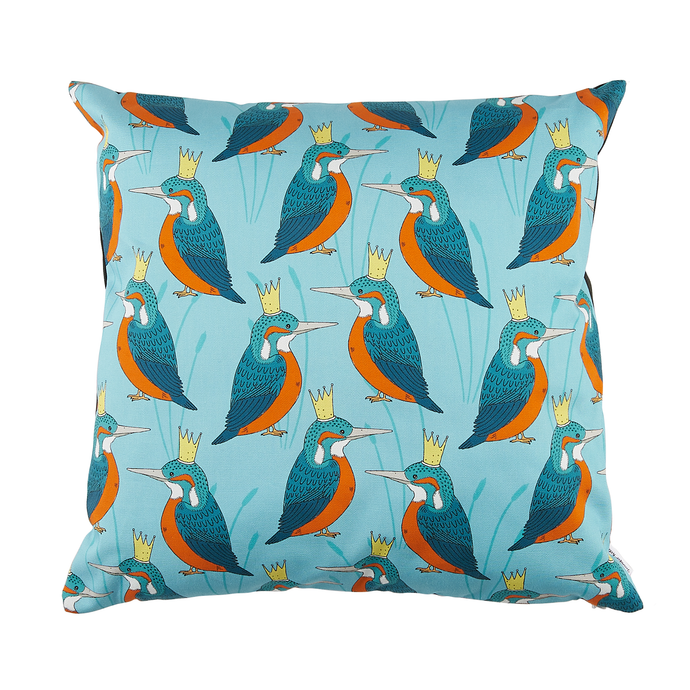 Royal Kingfisher Cushion