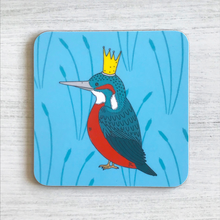 Load image into Gallery viewer, Royal Kingfisher Coaster