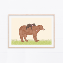 Load image into Gallery viewer, Mama Bear Art Print