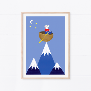 Mouse Dream Art Print