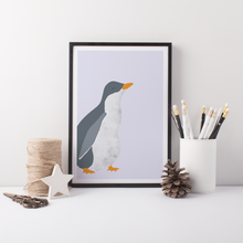Load image into Gallery viewer, Penguin Chick Art Print