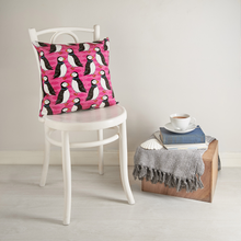 Load image into Gallery viewer, Perky Puffin Cushion Cover