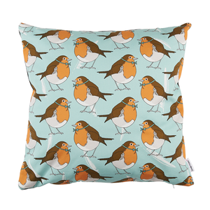 Dapper Robin Cushion Cover