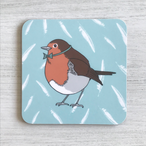 Dapper Robin Coaster