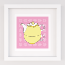 Load image into Gallery viewer, Tea for One, Limited Edition Screen Print